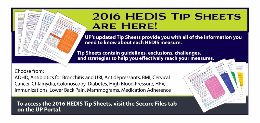 HEDIS tip sheet updatev2