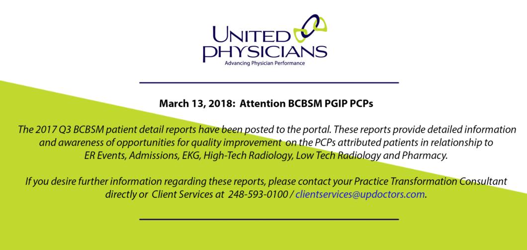 Q3 BCBSM Pt Detail Reports 3 14 18